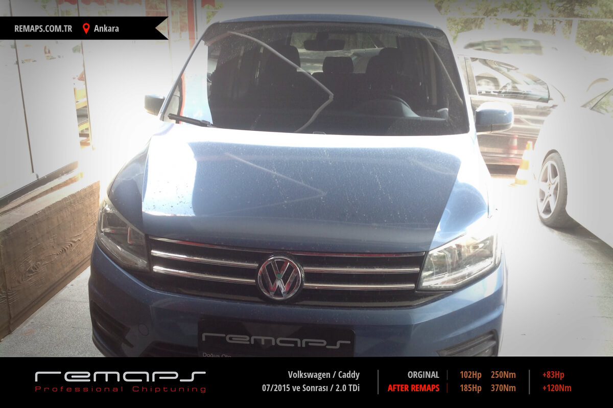 Volkswagen Caddy Ankara Chip Tuning