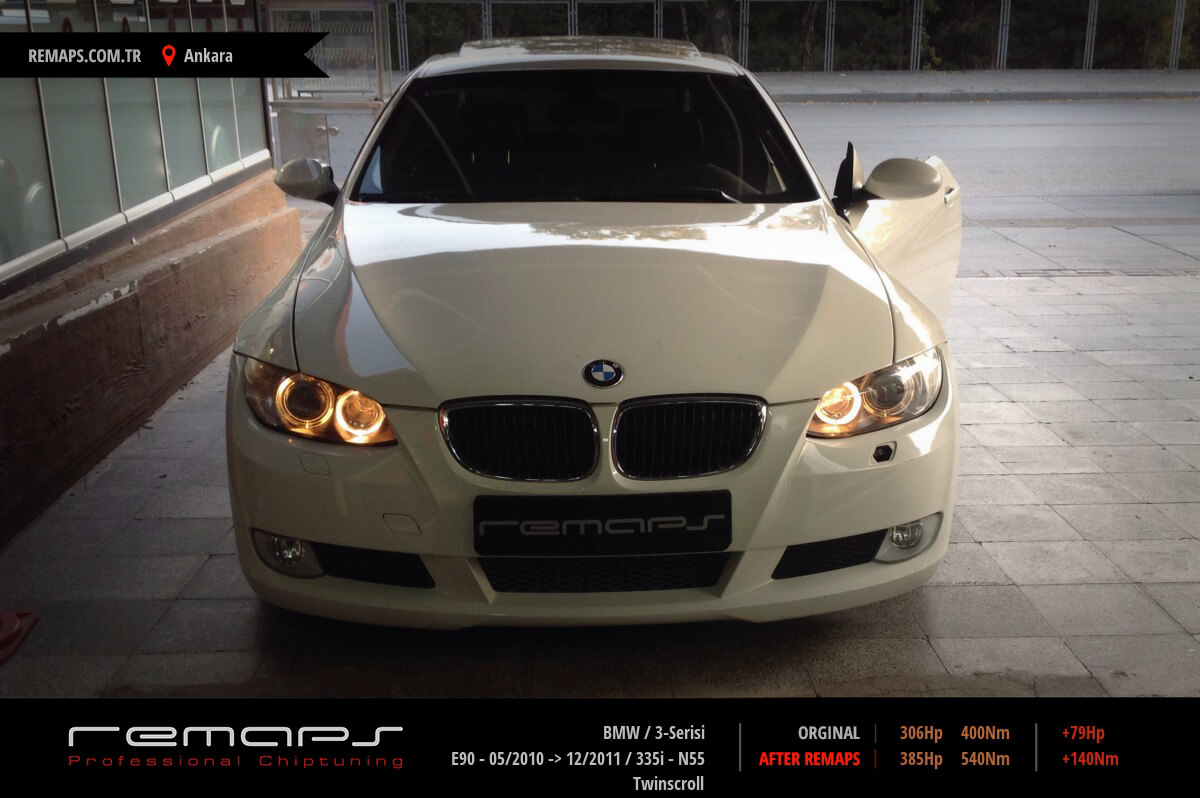 BMW 3-Serisi Ankara Chip Tuning