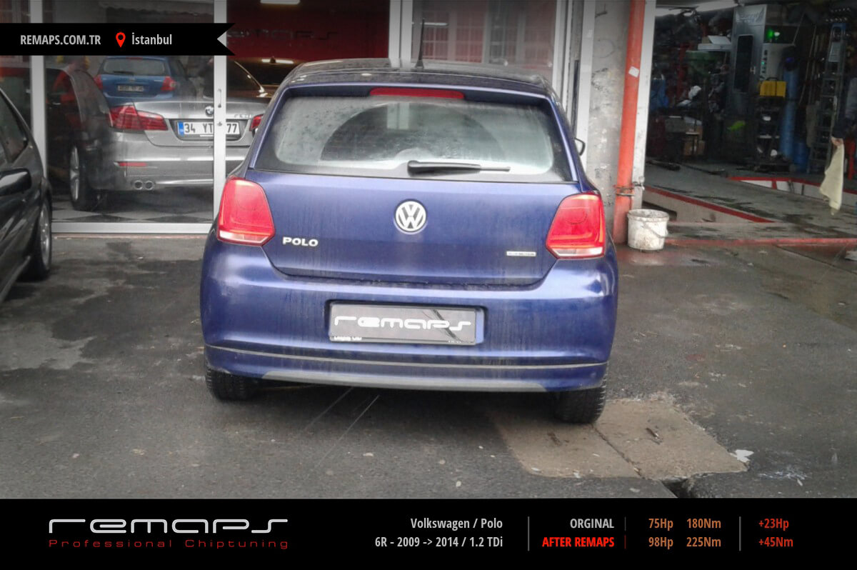 Volkswagen Polo İstanbul Chip Tuning