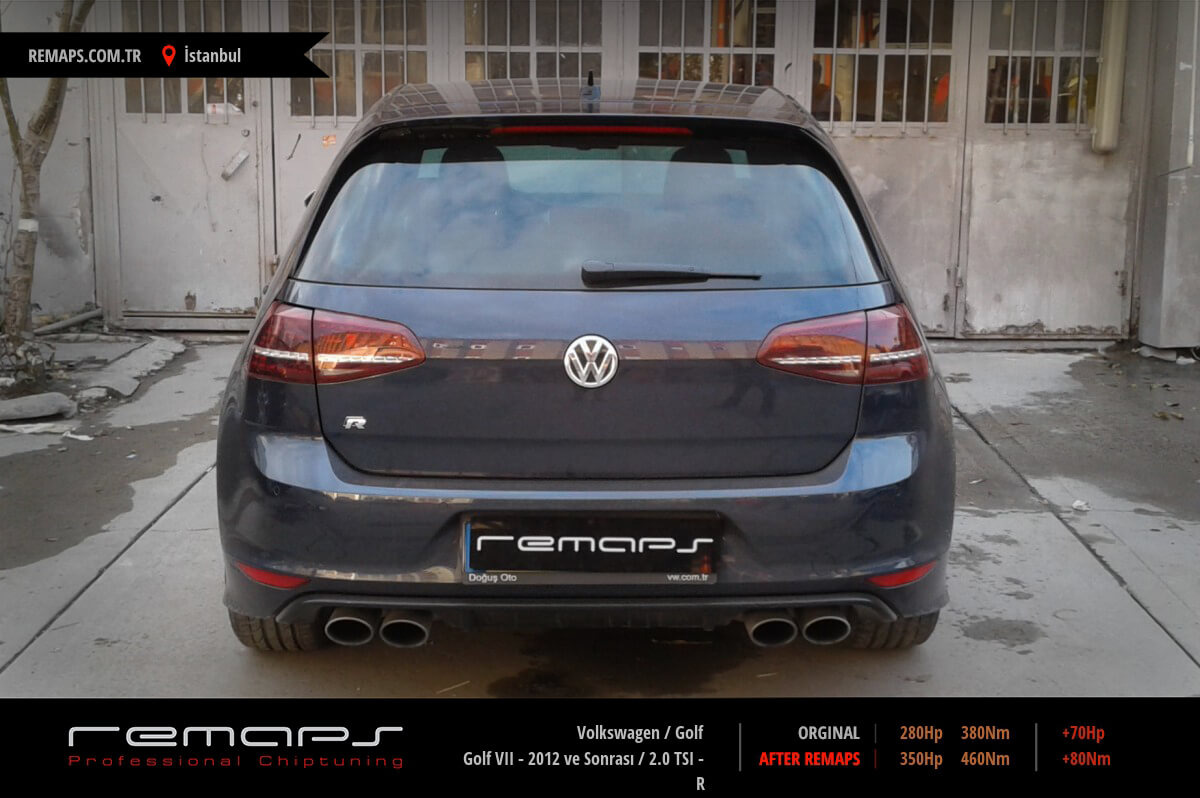 Volkswagen Golf İstanbul Chip Tuning
