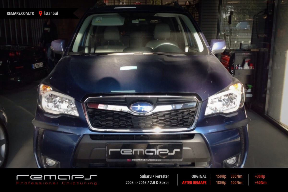 Subaru Forester İstanbul Chip Tuning