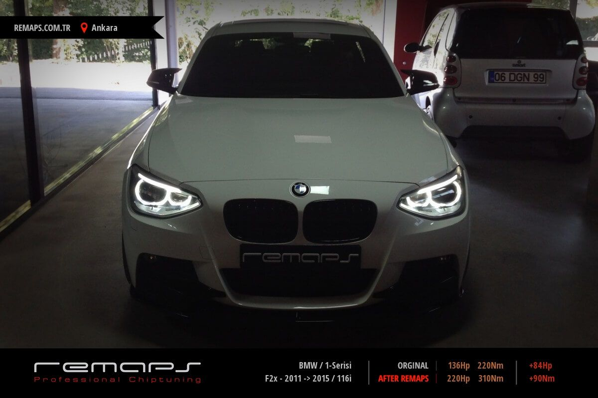 BMW 1-Serisi Ankara Chip Tuning