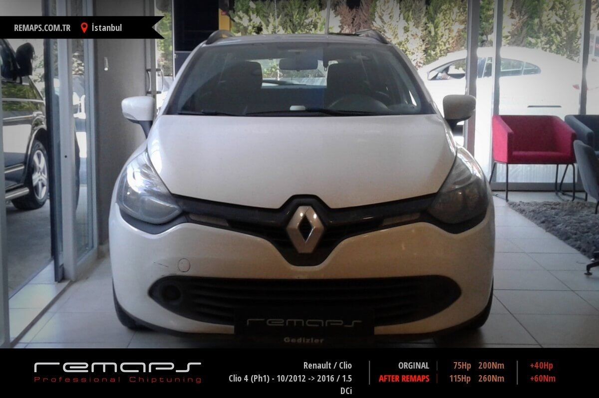 Renault Clio İstanbul Chip Tuning