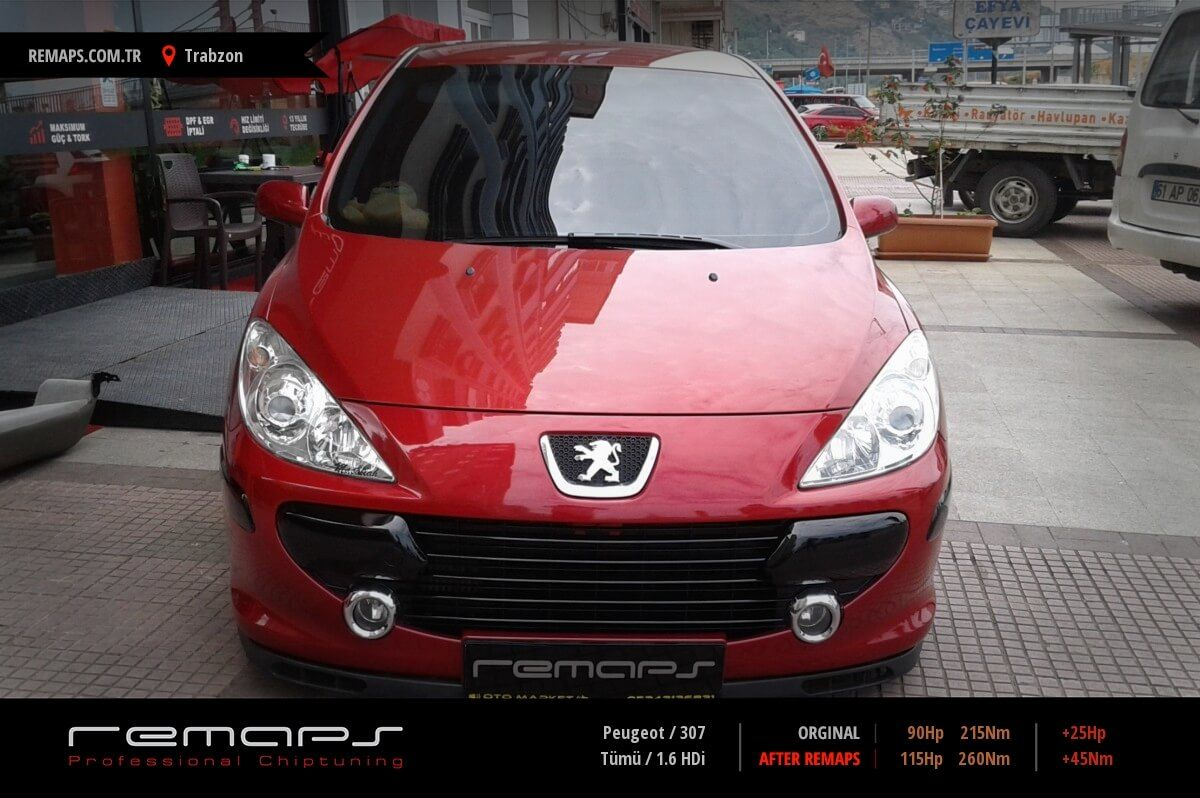 Peugeot 307 Trabzon Chip Tuning