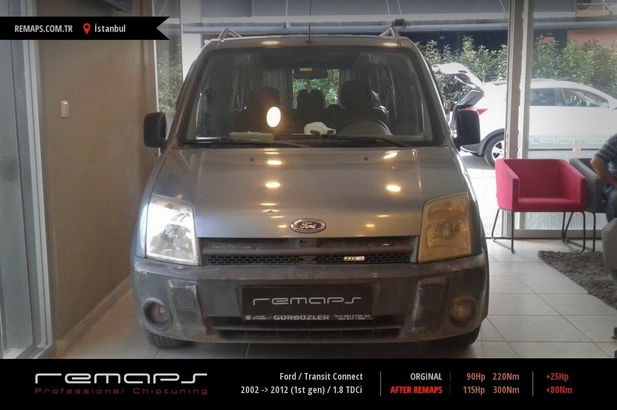 Ford Transit Connect İstanbul Chip Tuning