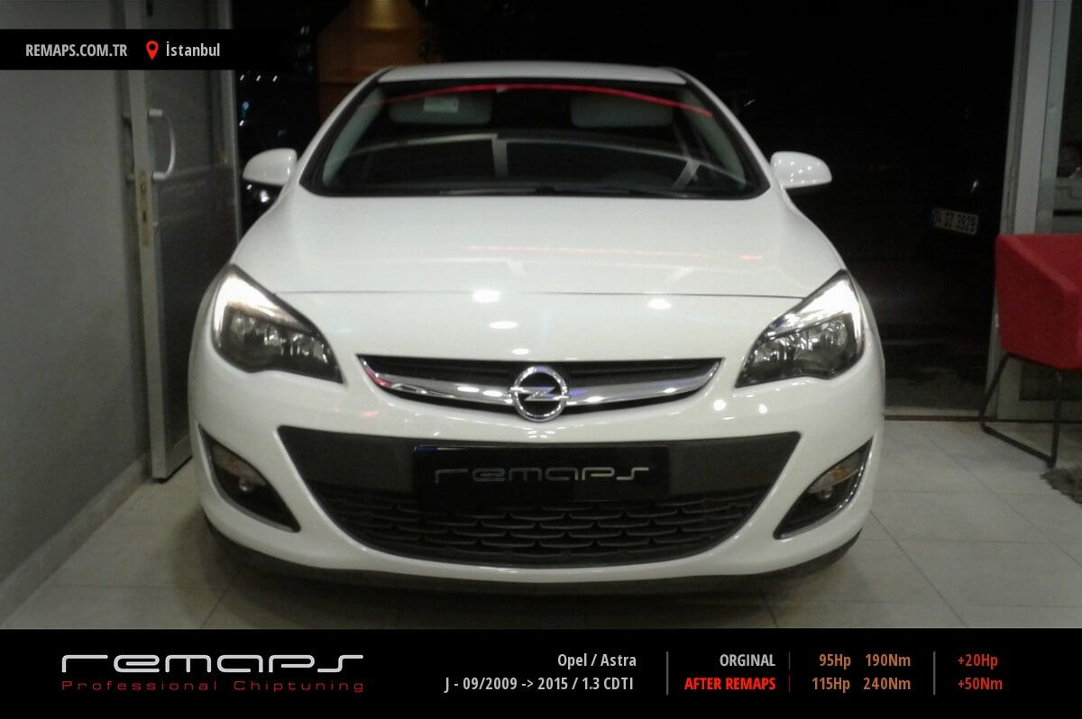 Opel Astra İstanbul Chip Tuning