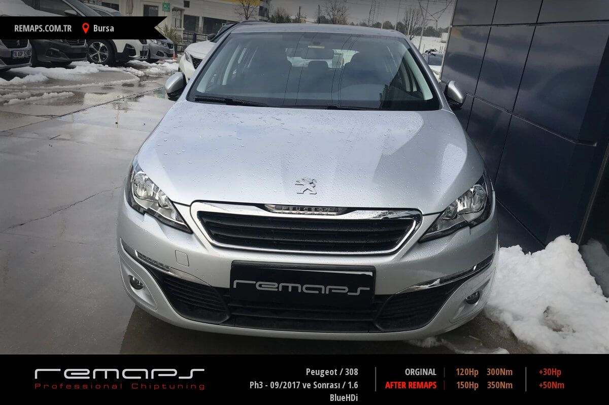 Peugeot 308 Bursa Chip Tuning