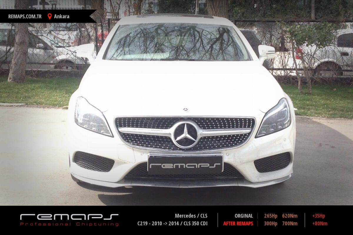 Mercedes CLS Ankara Chip Tuning