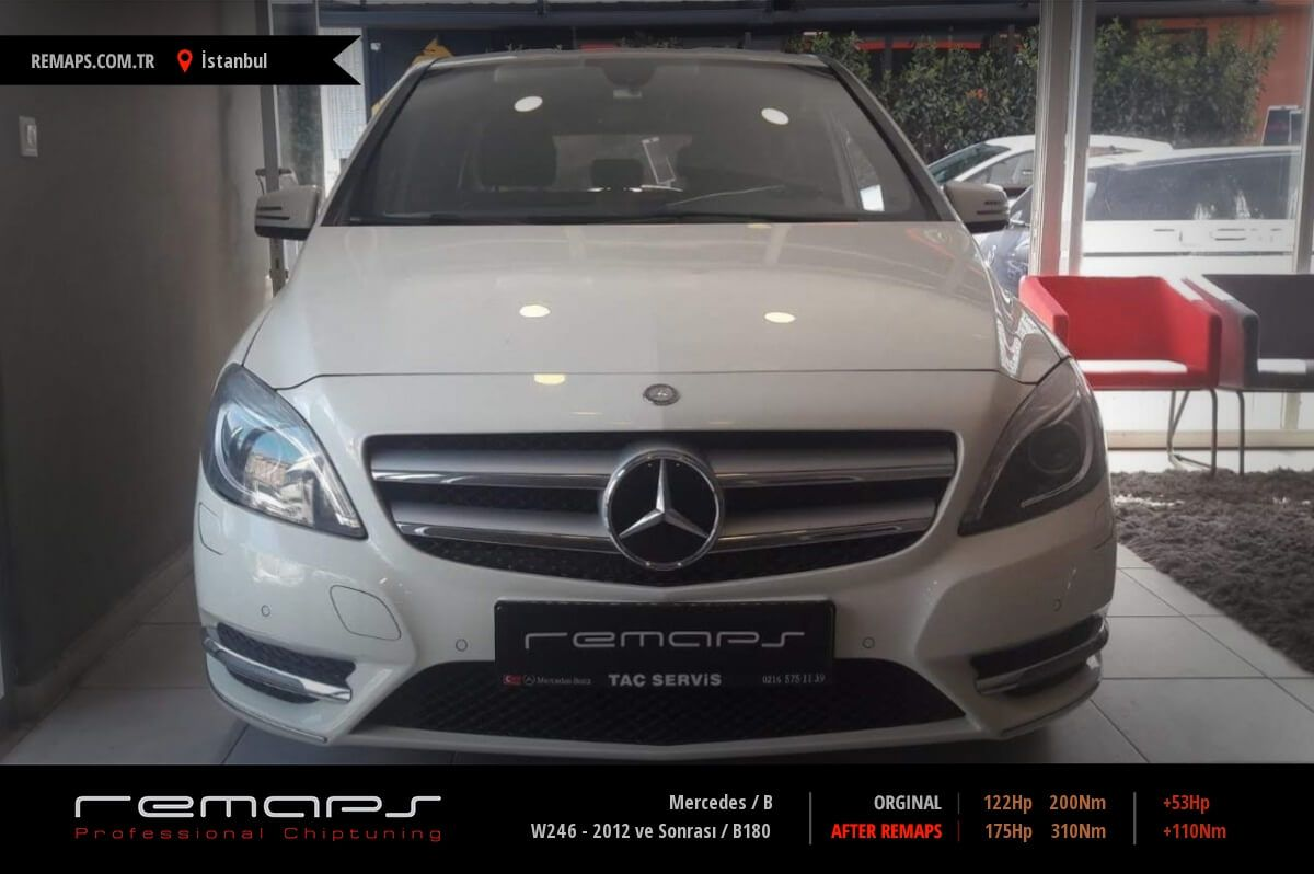 Mercedes B İstanbul Chip Tuning