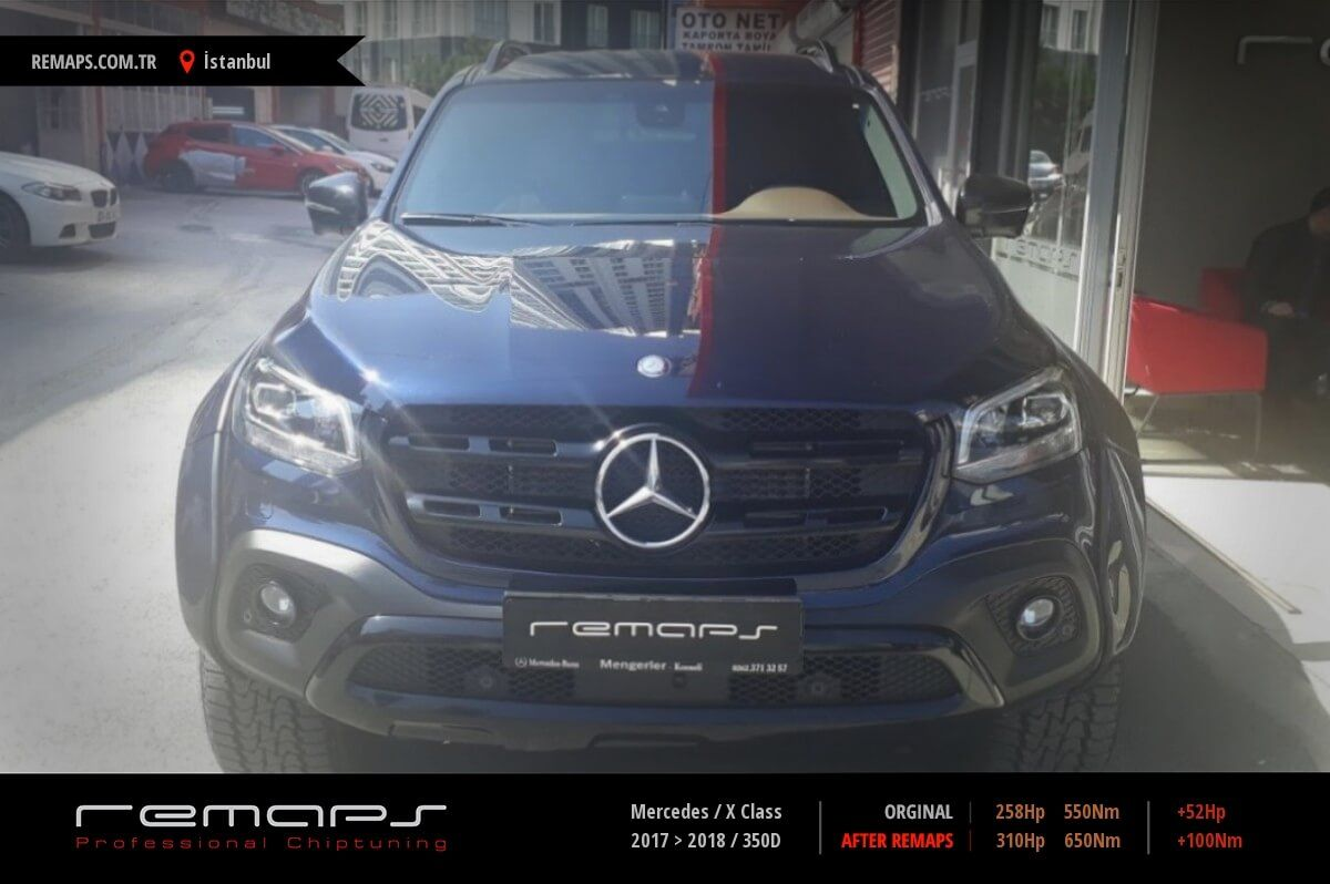 Mercedes X Class İstanbul Chip Tuning