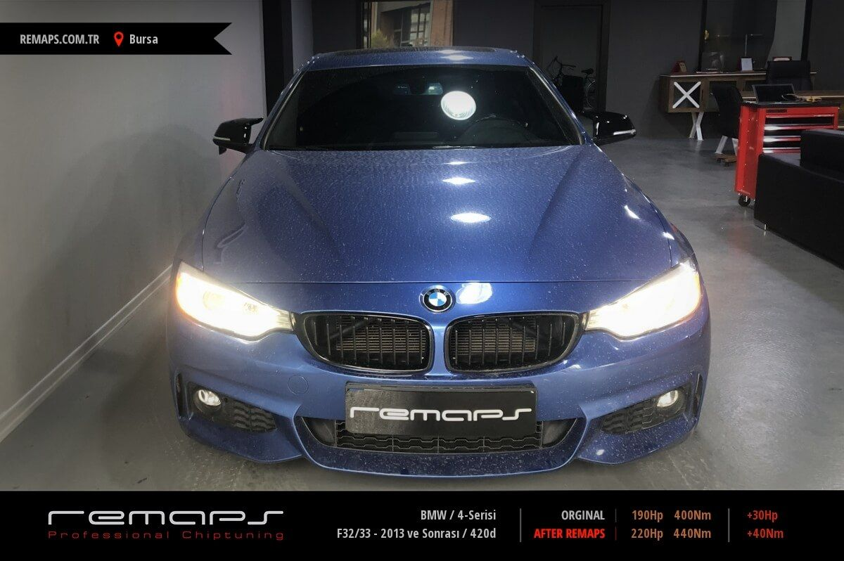 BMW 4-Serisi Bursa Chip Tuning