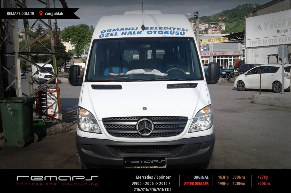 Mercedes Sprinter Zonguldak Chip Tuning