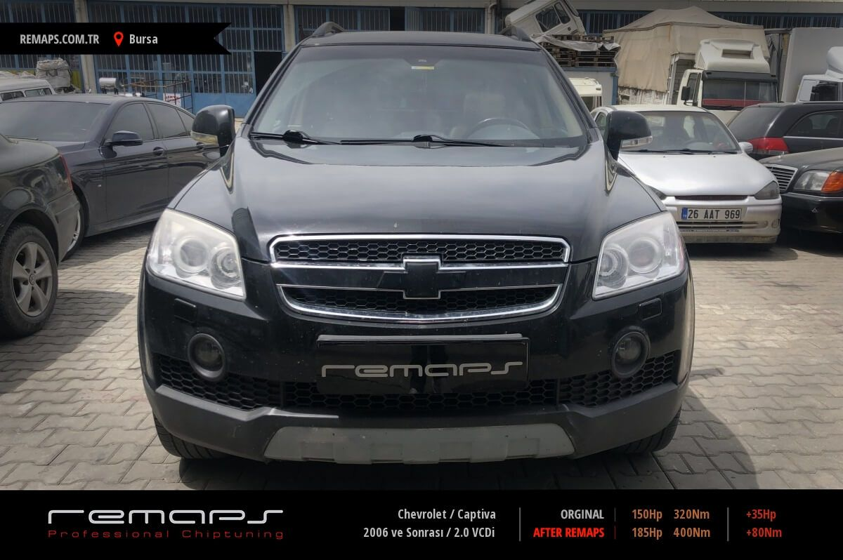 Chevrolet Captiva Bursa Chip Tuning