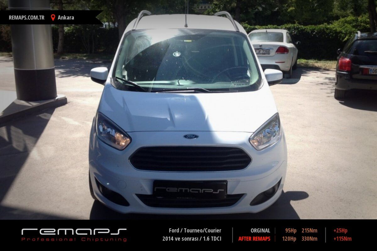 Ford Tourneo/Courier Ankara Chip Tuning