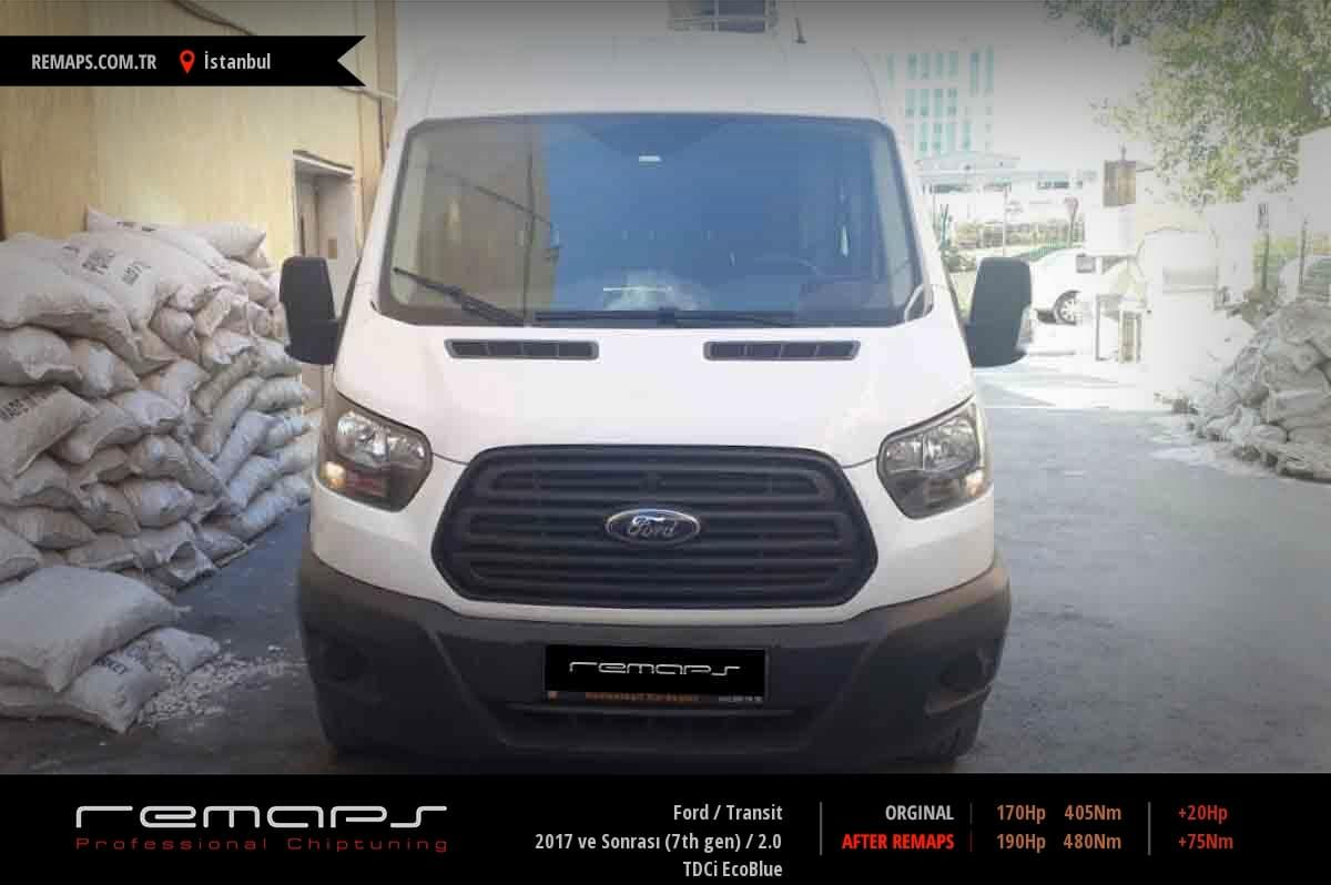Ford Transit İstanbul Chip Tuning