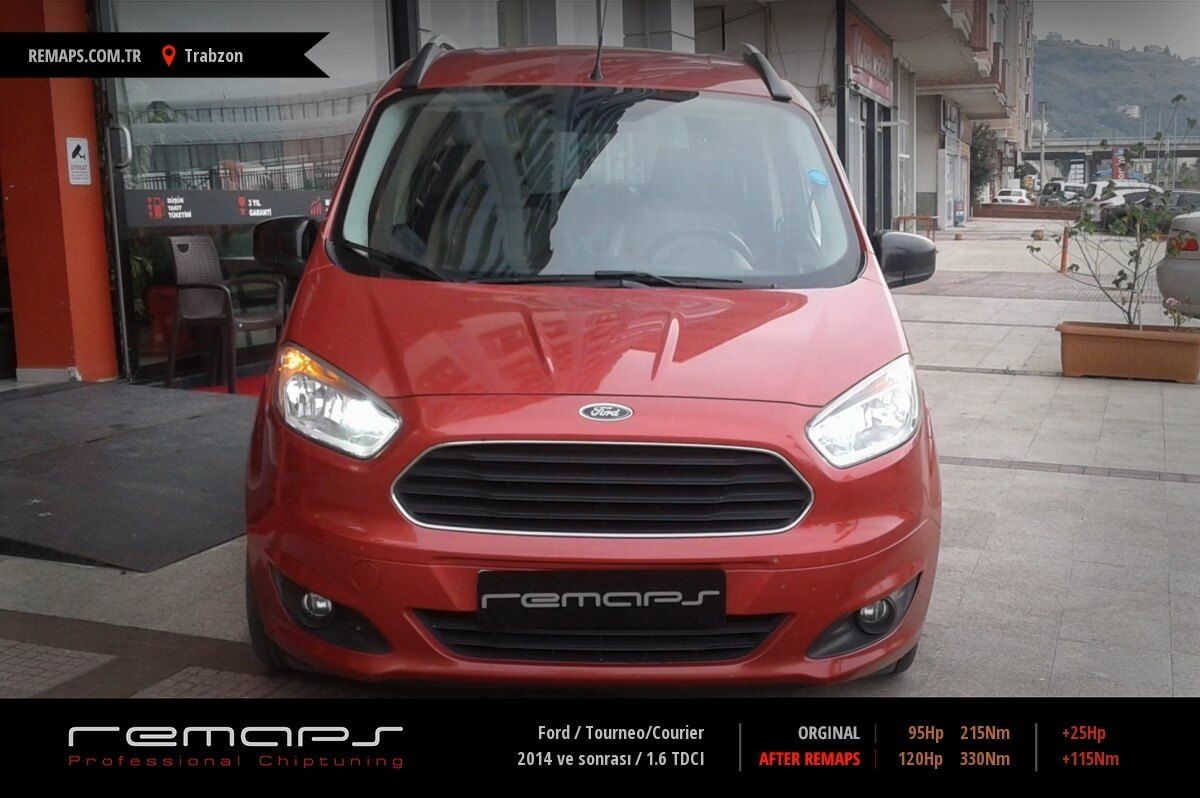 Ford Tourneo/Courier Trabzon Chip Tuning