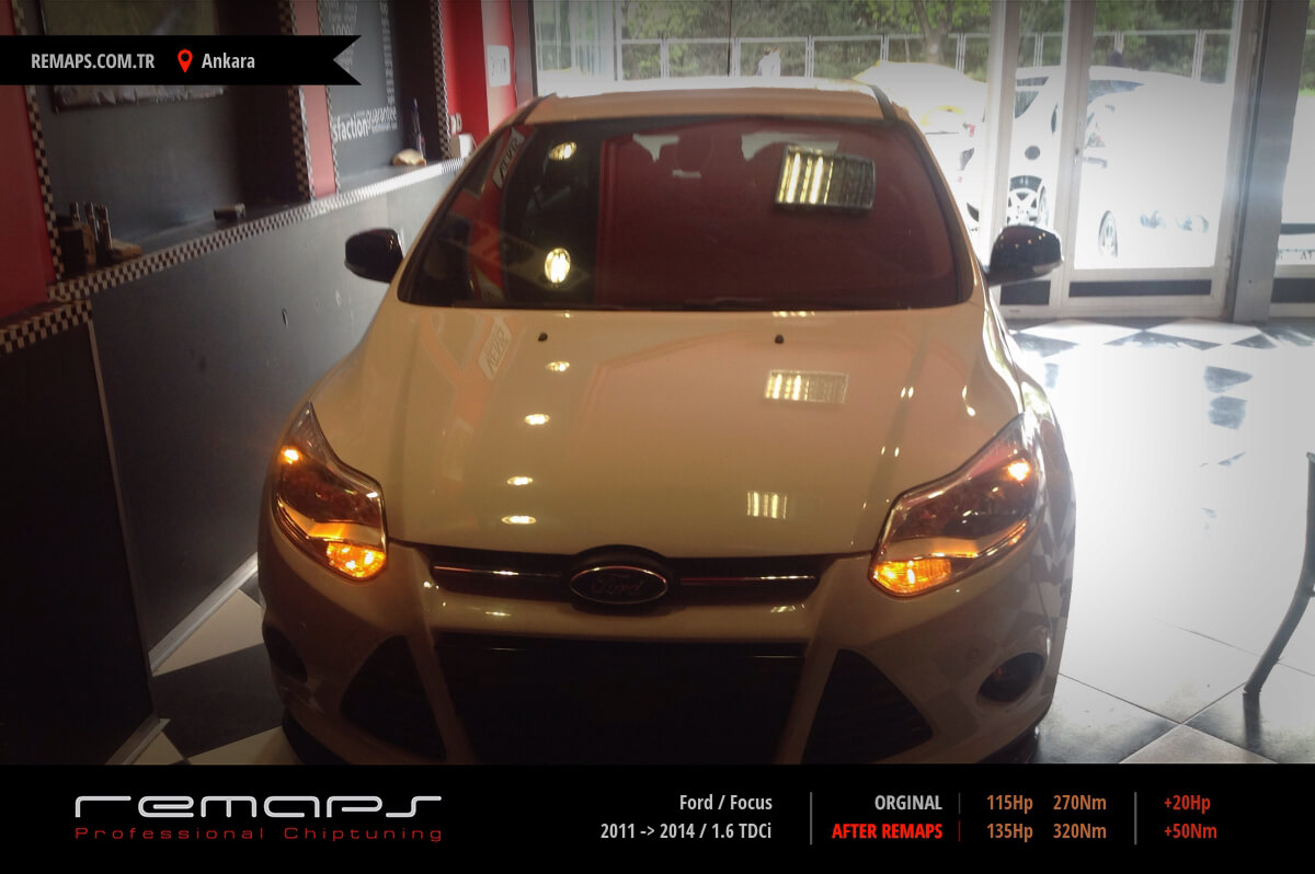 Ford Focus Ankara Chip Tuning