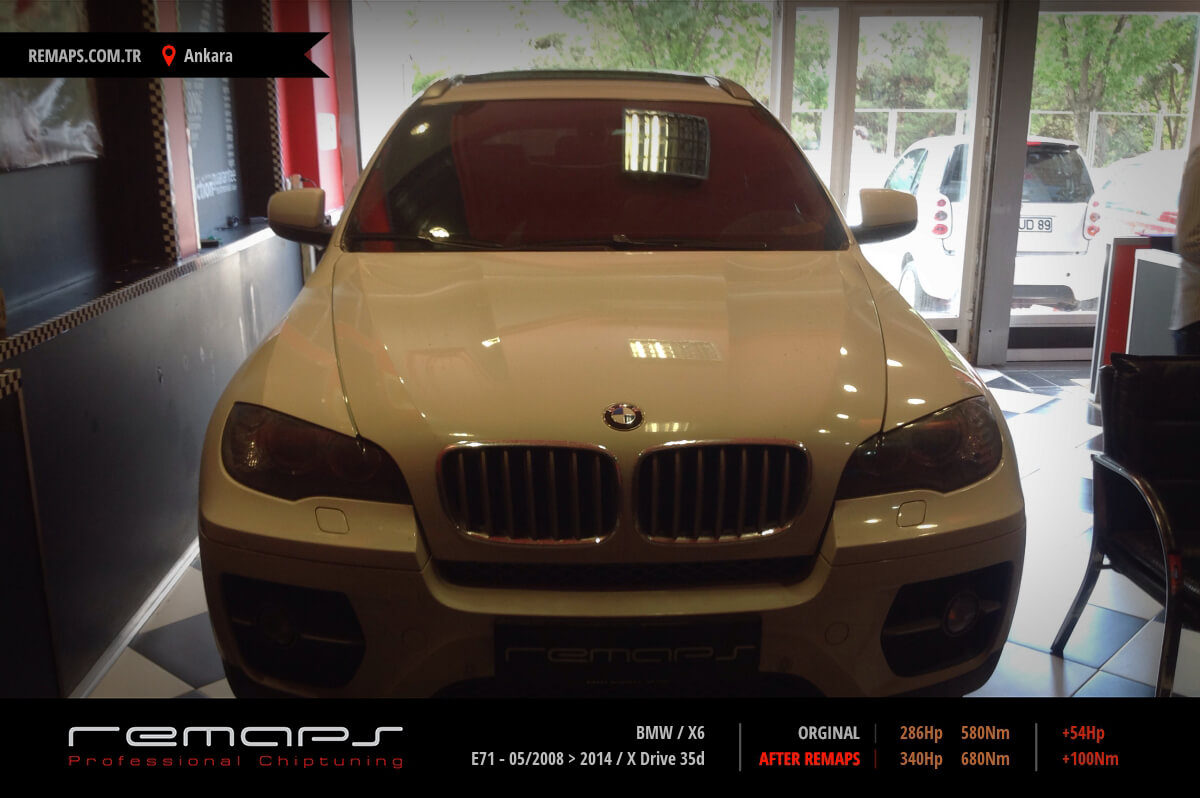 BMW X6 Ankara Chip Tuning