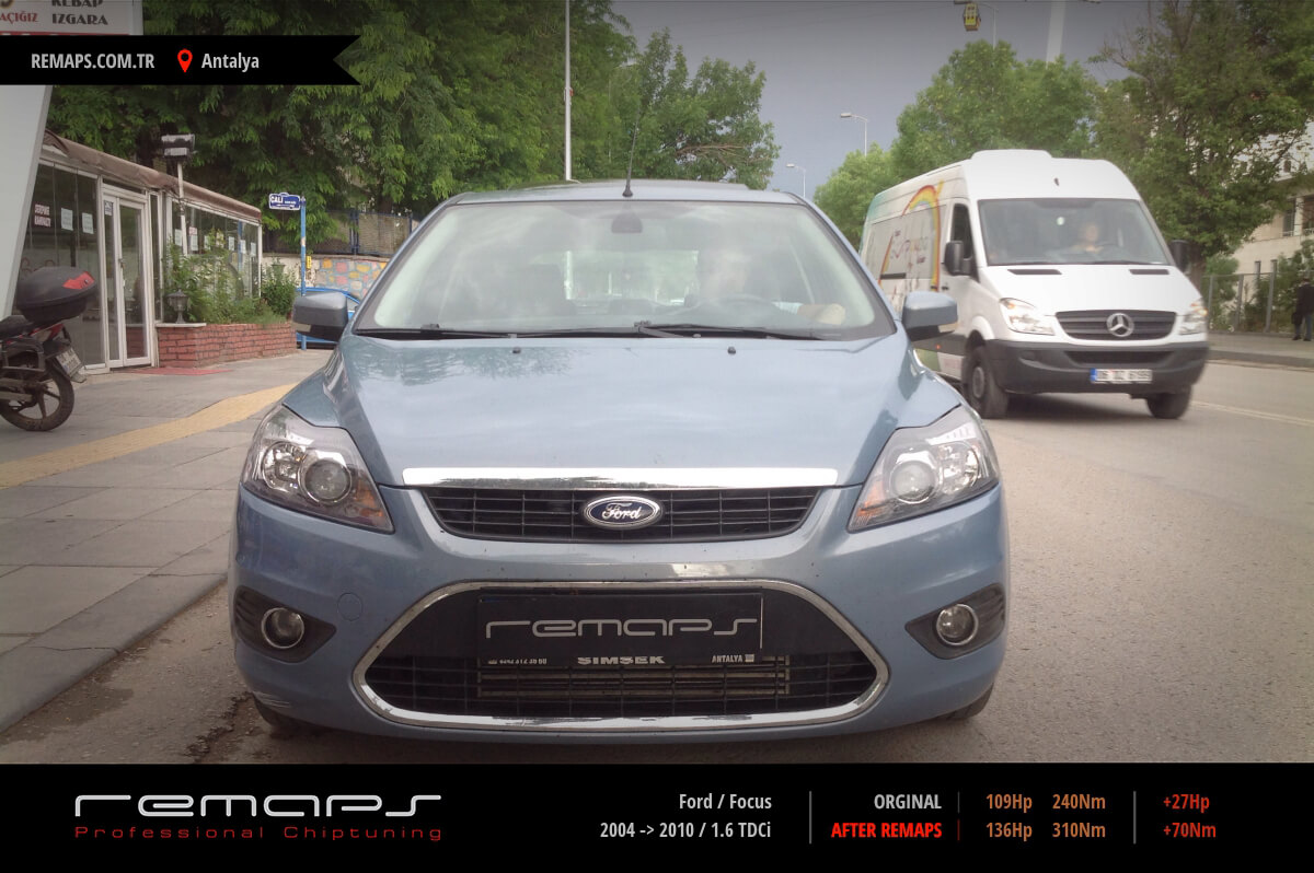 Ford Focus Ön Chip Tuning
