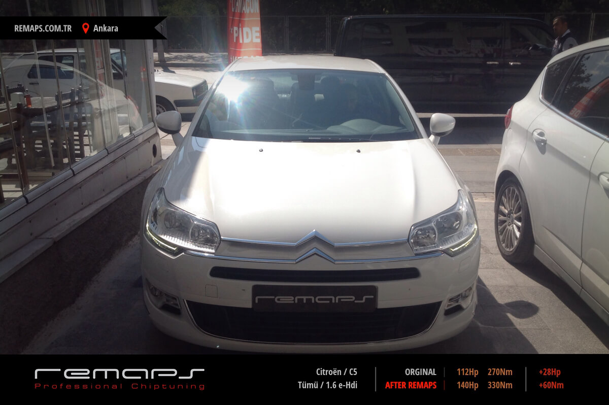 Citroën C5 Ankara Chip Tuning