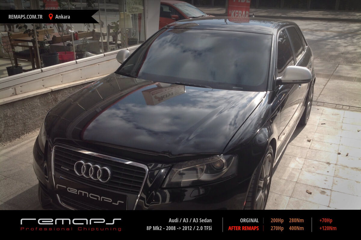 Audi A3 / A3 Sedan Ankara Chip Tuning