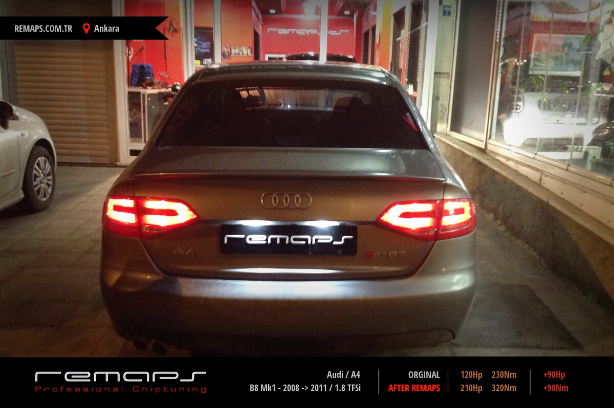 Audi A4 Ön Chip Tuning