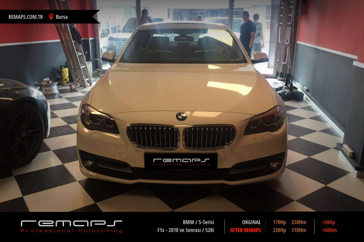 BMW 5-Serisi Bursa Chip Tuning