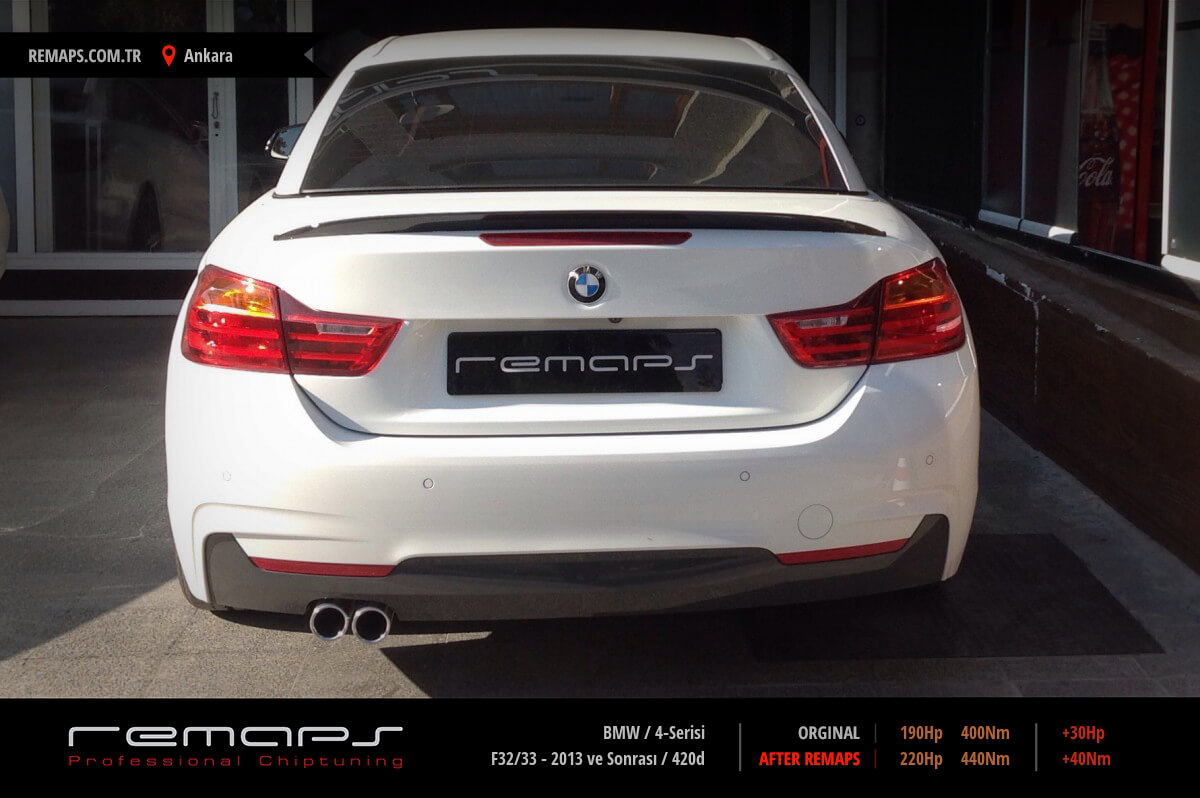BMW 4-Serisi Ankara Chip Tuning