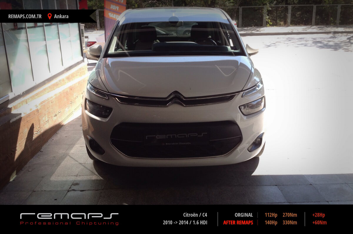 Citroën C4 Ankara Chip Tuning