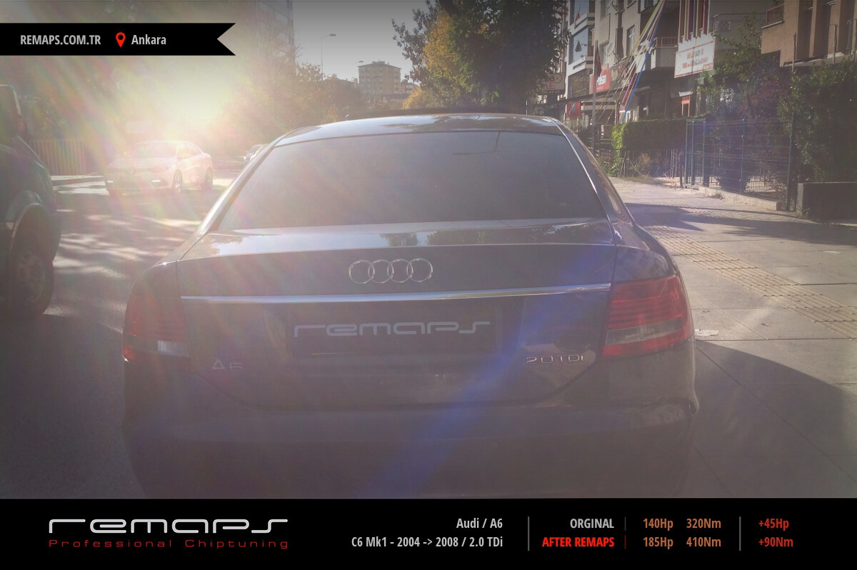 Audi A6 Ön Chip Tuning