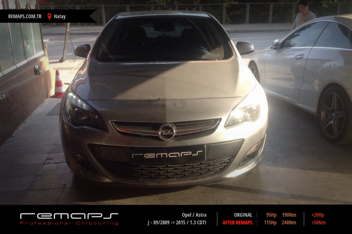 Opel Astra Hatay Chip Tuning