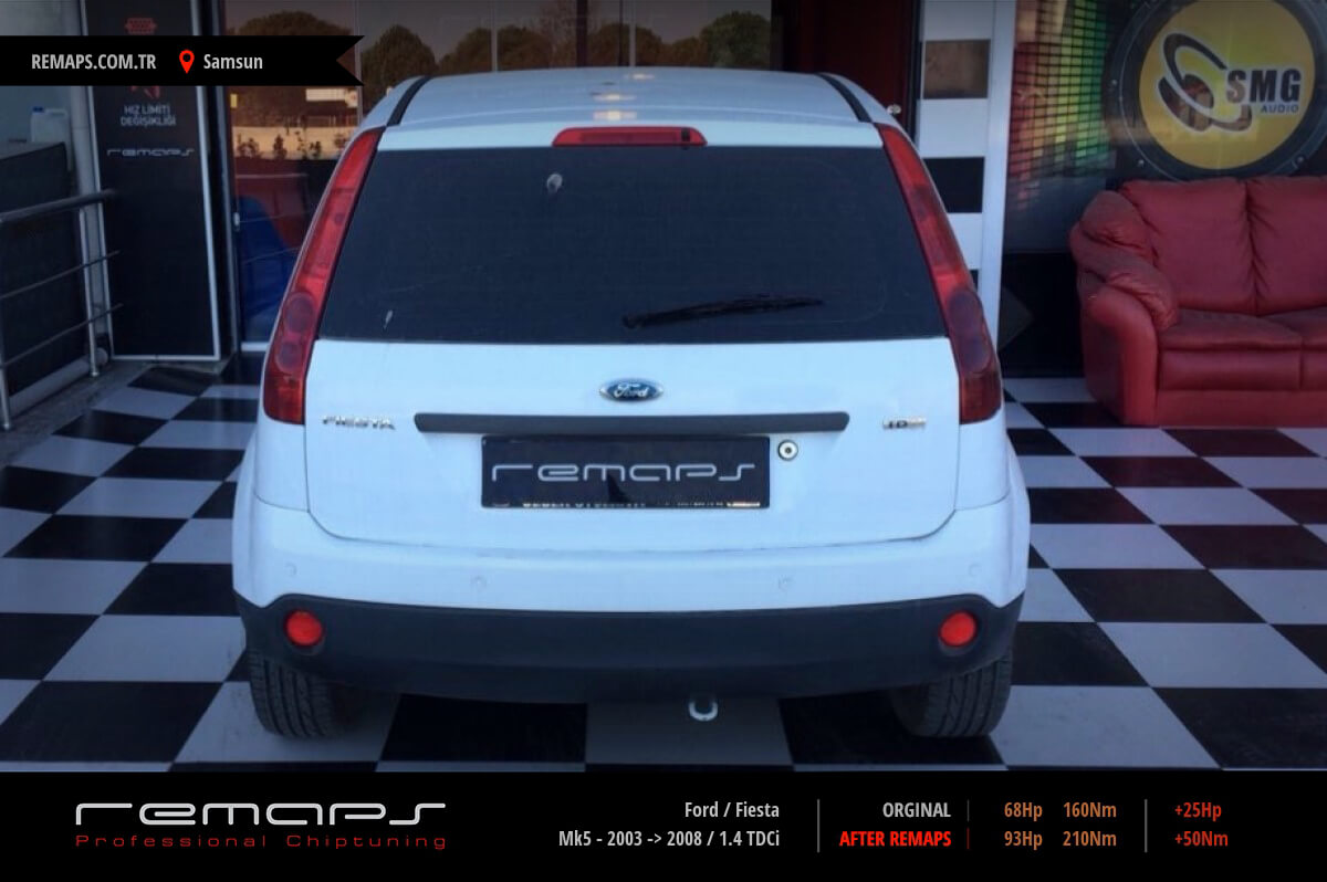 Ford Fiesta Samsun Chip Tuning