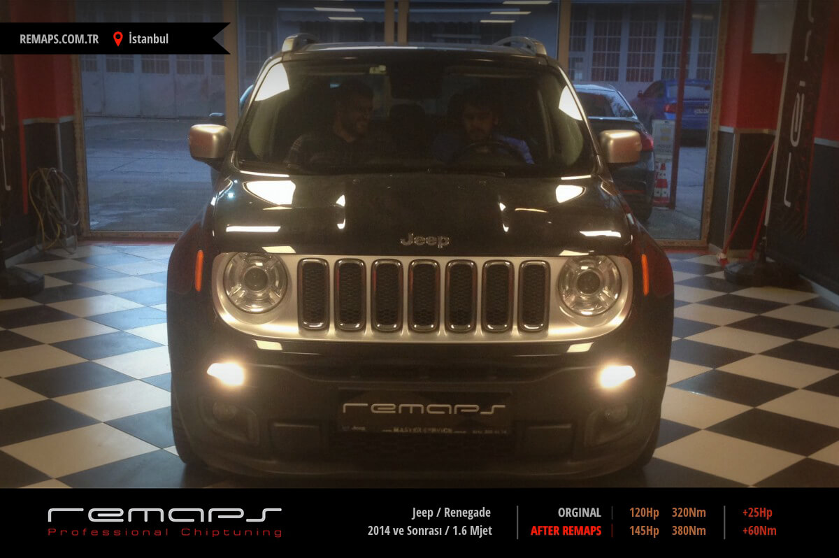 Jeep Renegade İstanbul Chip Tuning