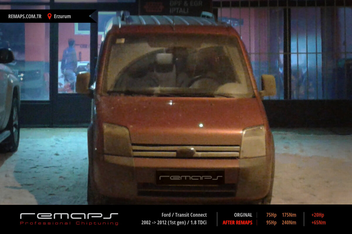 Ford Transit Connect Ön Chip Tuning