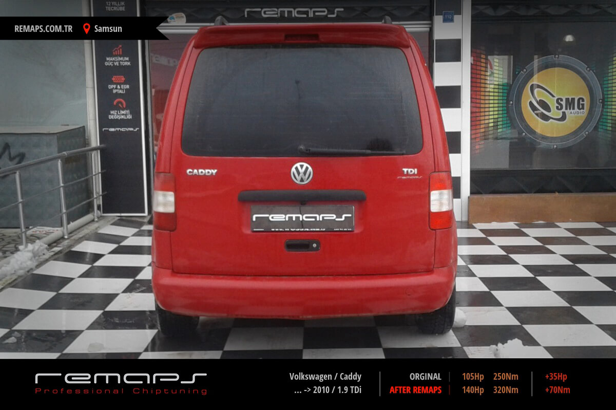 Volkswagen Caddy Samsun Chip Tuning