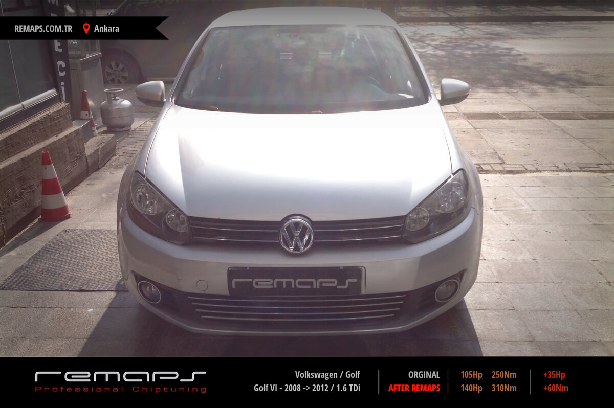 Volkswagen Golf Ankara Chip Tuning