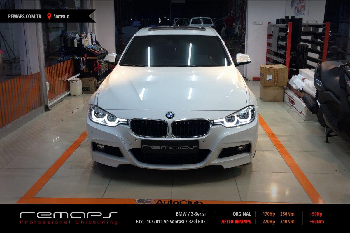 BMW 3-Serisi F30 - 10/2011 ve Sonrası 320i EDE Chip Tuning