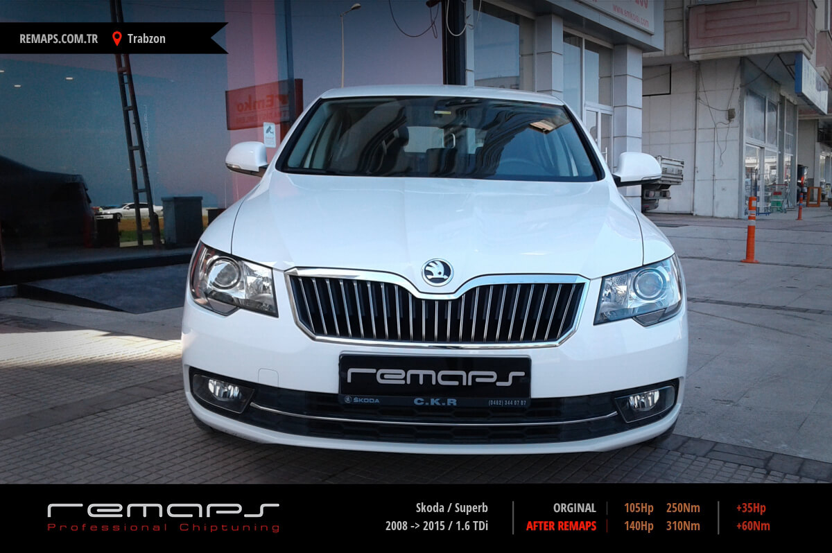 Skoda Superb Trabzon Chip Tuning
