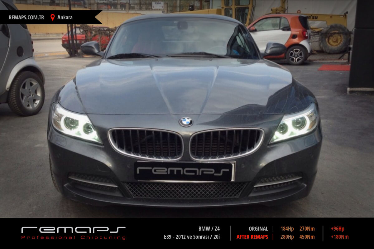BMW Z4 Ön Chip Tuning