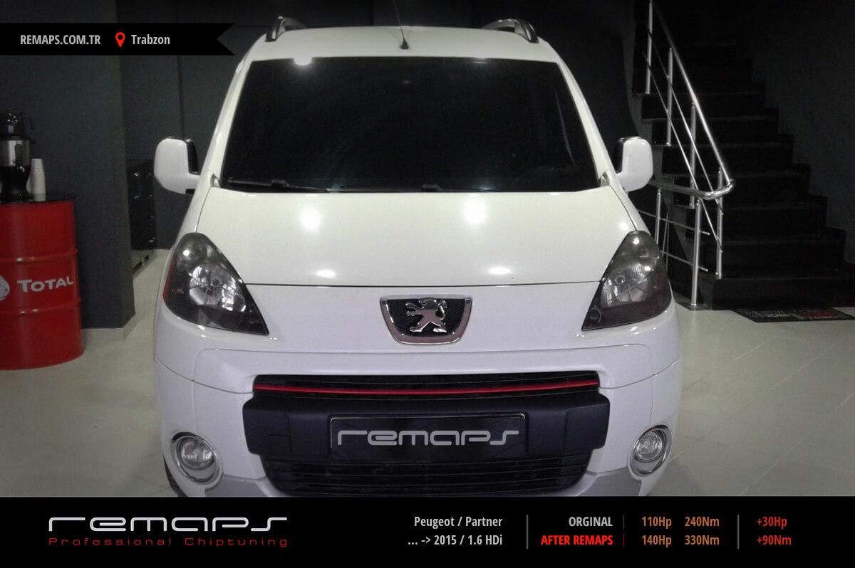 Peugeot Partner 2015 1 6 Hdi Chip Tuning Performans Yakit