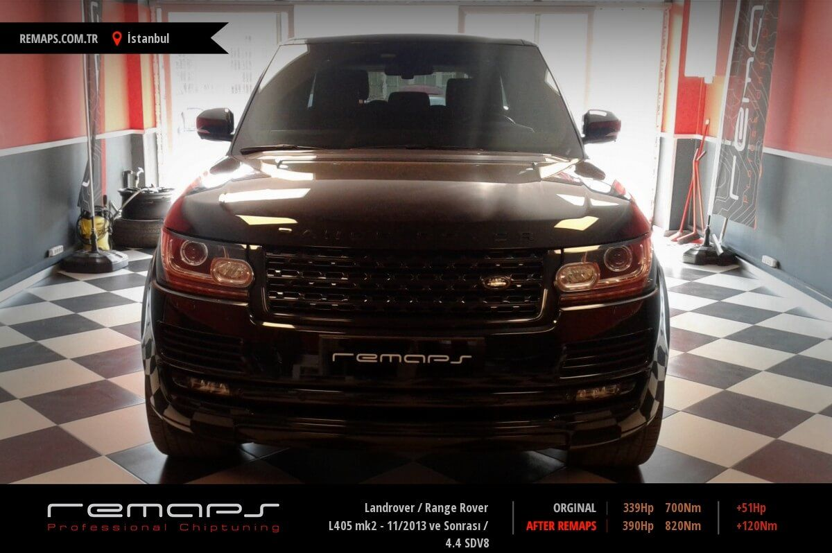 Landrover Range Rover İstanbul Chip Tuning