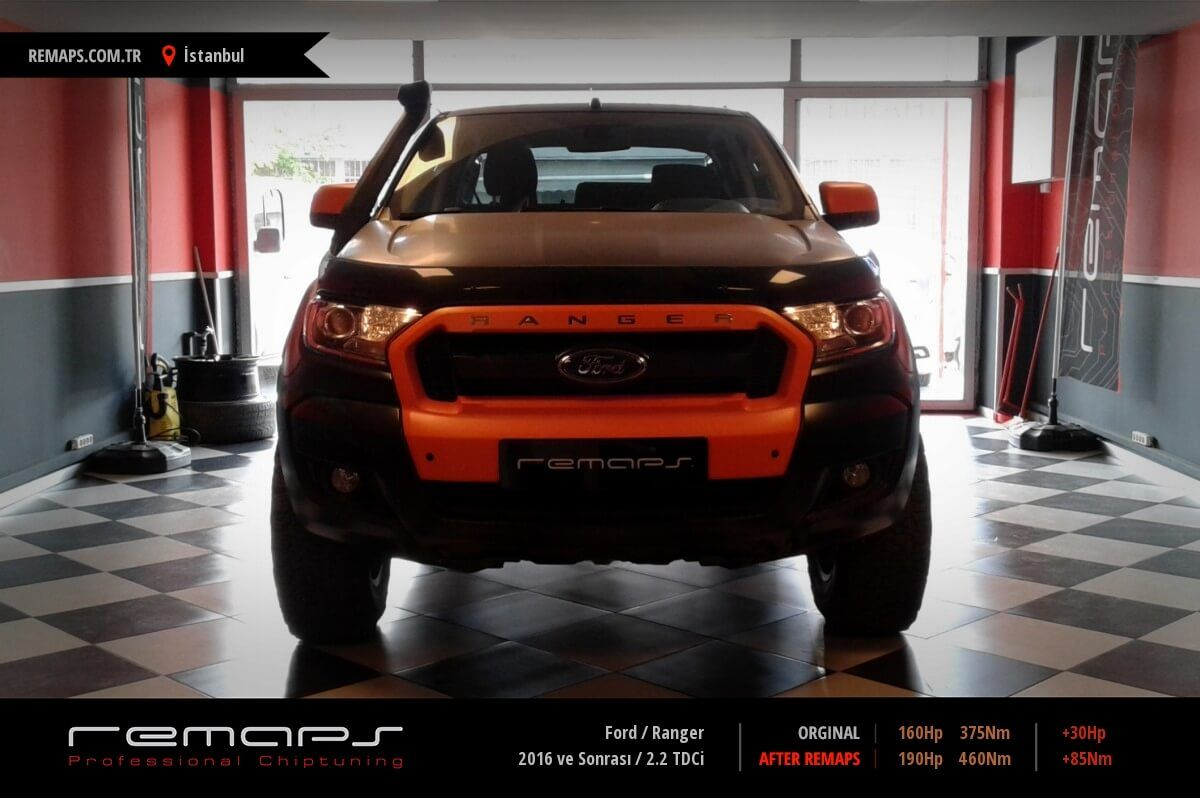 Ford Ranger İstanbul Chip Tuning