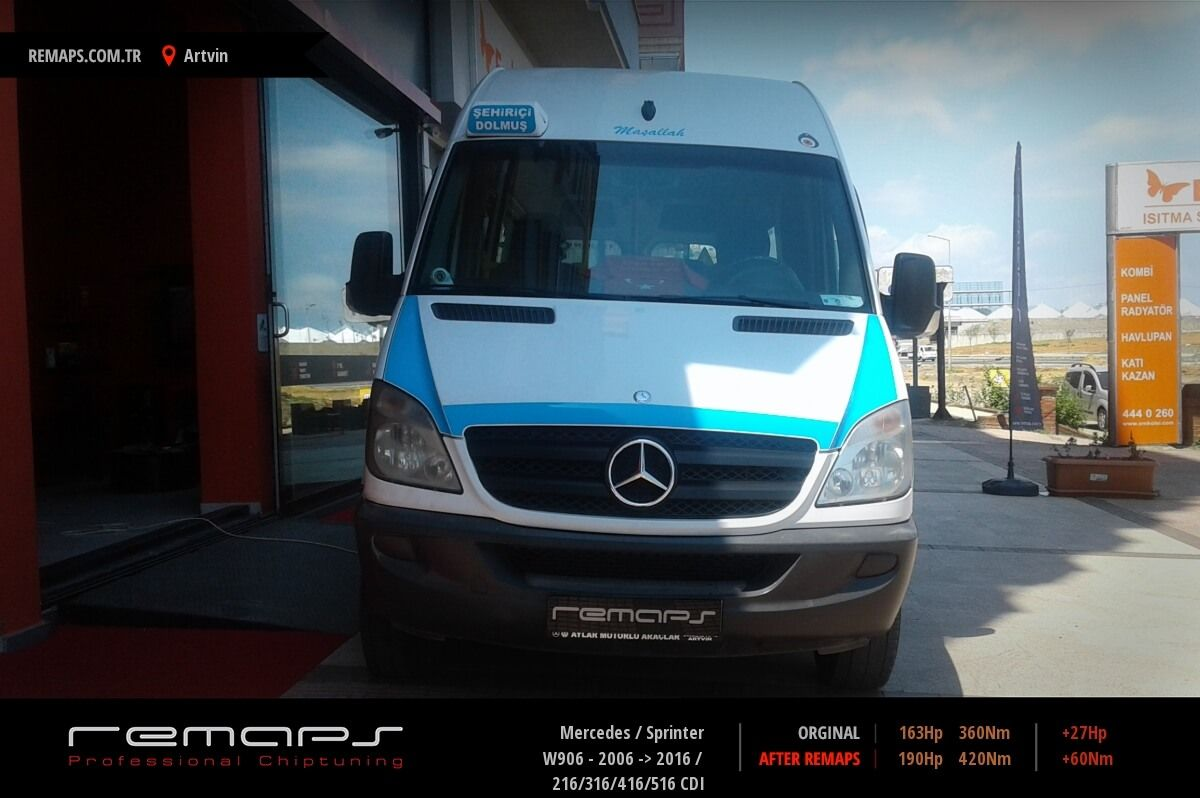 Mercedes Sprinter Ön Chip Tuning