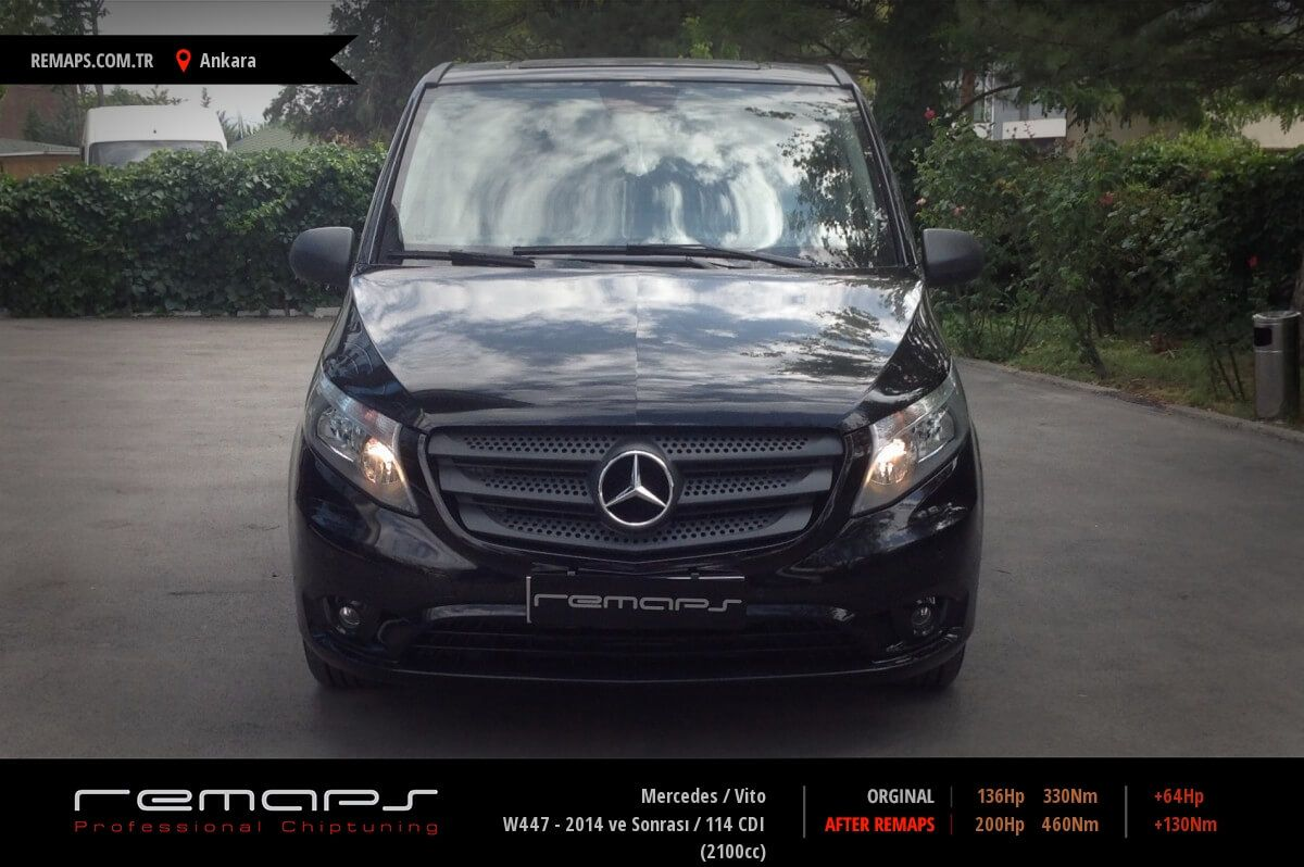 Mercedes Vito Ankara Chip Tuning