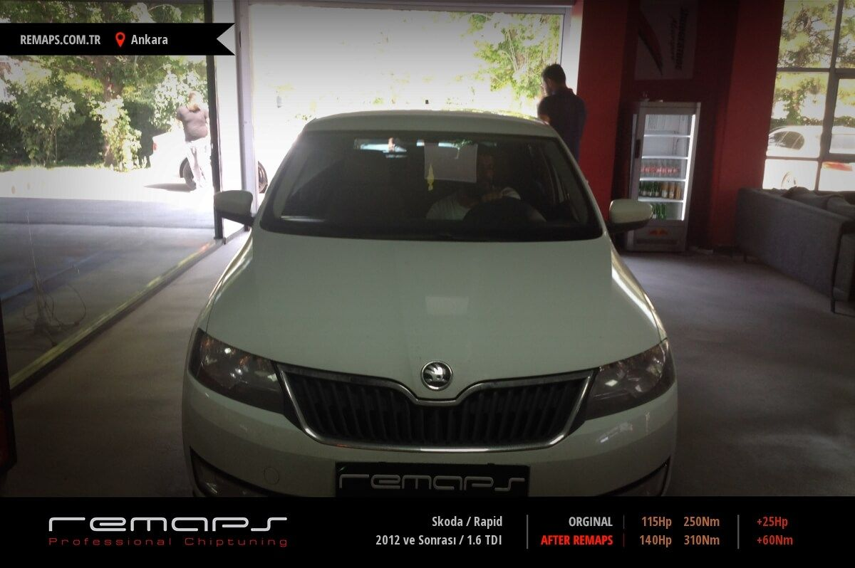 Skoda Rapid Ankara Chip Tuning