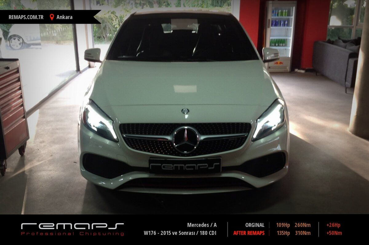 Mercedes A Ankara Chip Tuning