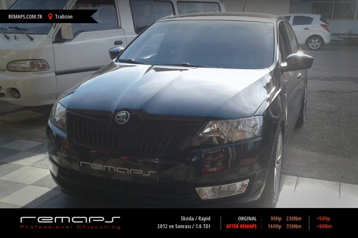 Skoda Rapid Trabzon Chip Tuning
