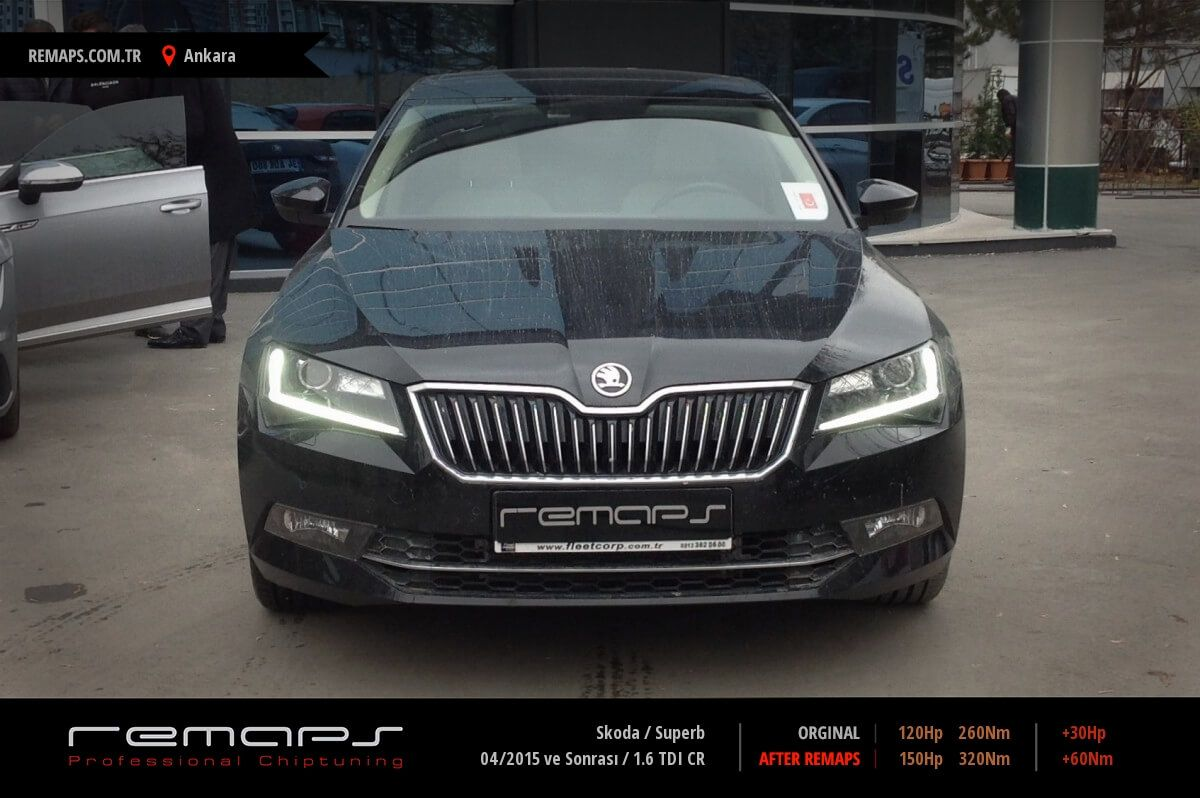 Skoda Superb Ankara Chip Tuning