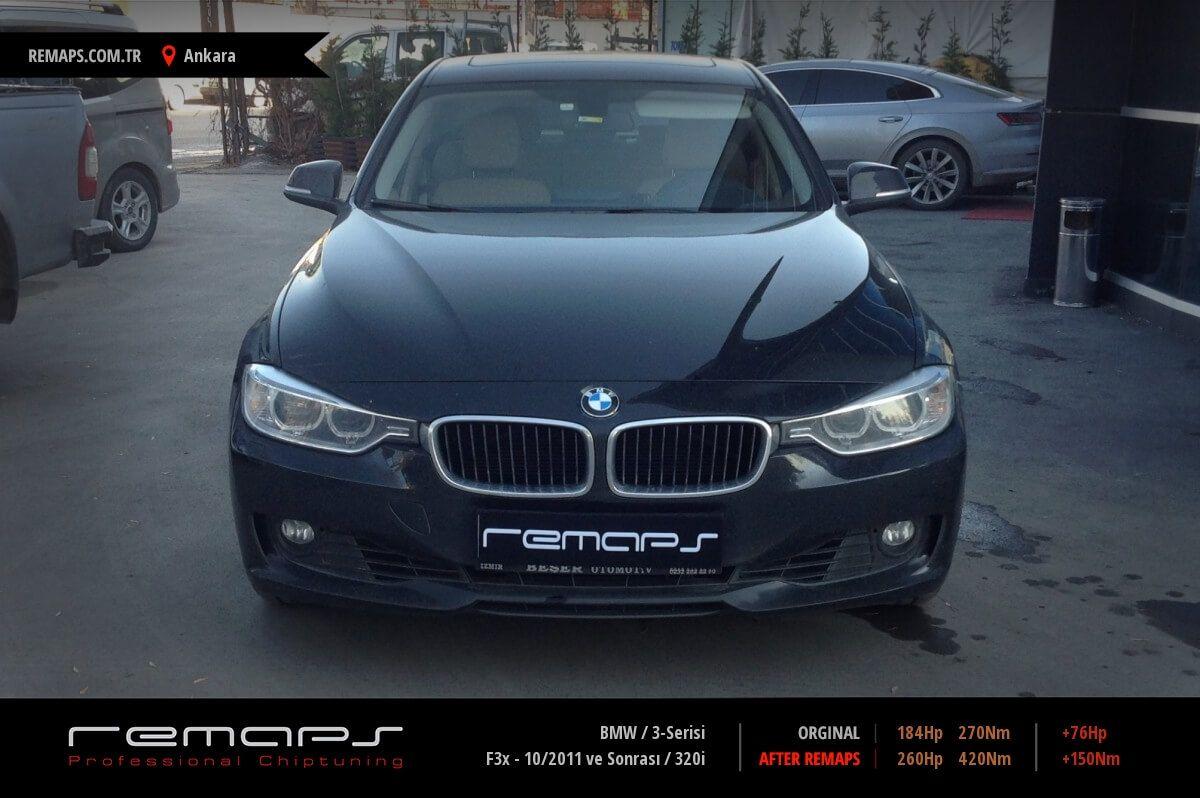 BMW 3-Serisi F30 - 10/2011 ve Sonrası 320i Chip Tuning