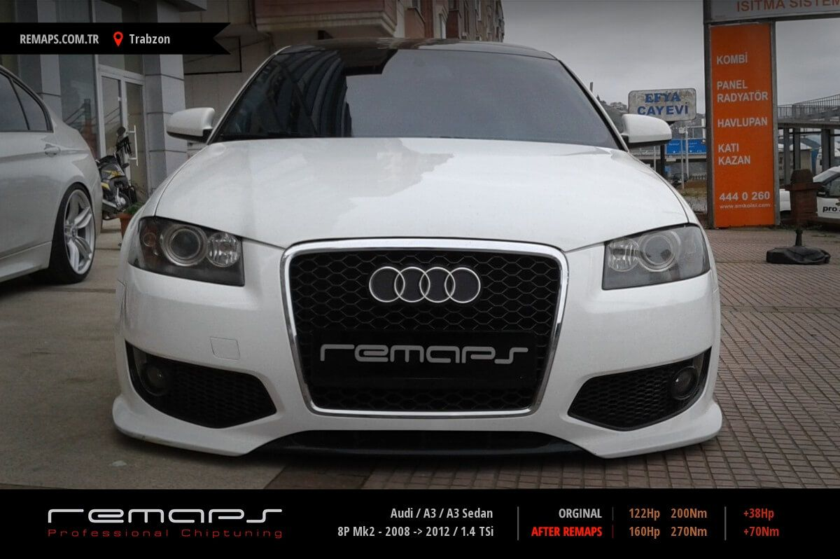 Audi A3 / A3 Sedan Trabzon Chip Tuning